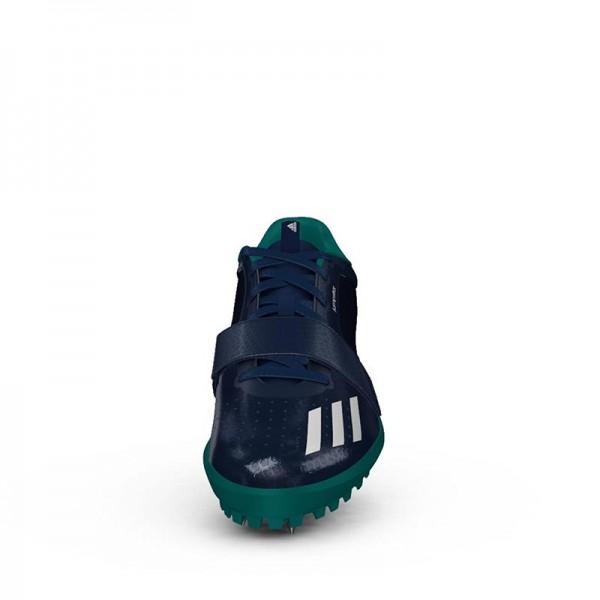 Zapatillas para salto de pista Adidas Jumpstar verdes-3