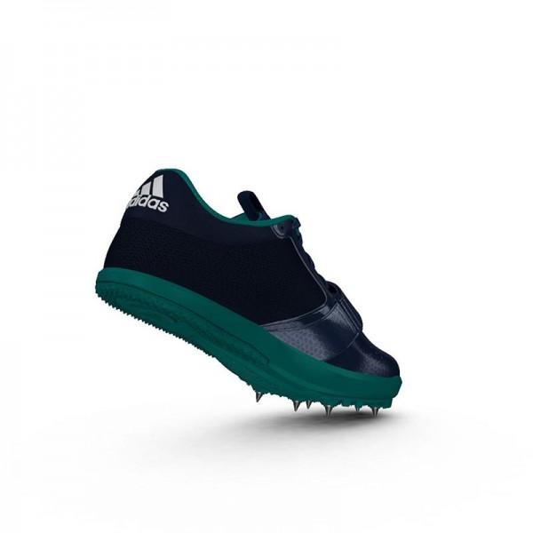 Zapatillas para salto de pista Adidas Jumpstar verdes-5