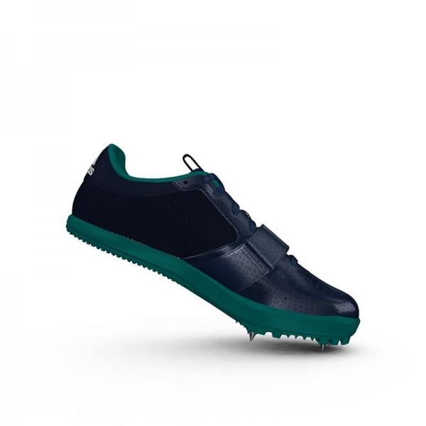Zapatillas para salto de pista Adidas Jumpstar verdes-6