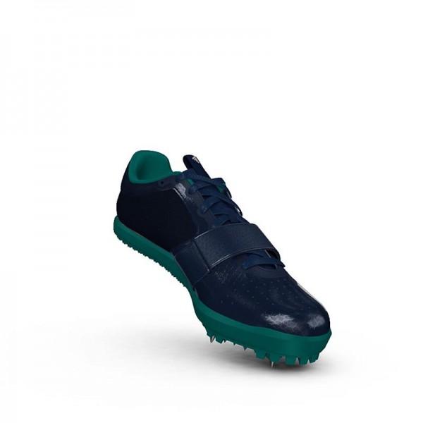 Zapatillas para salto de pista Adidas Jumpstar verdes-8