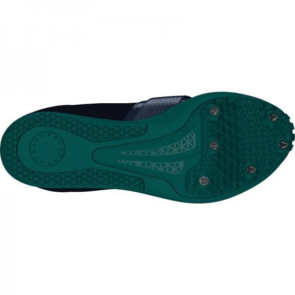 Zapatillas para salto de pista Adidas Jumpstar verdes-9
