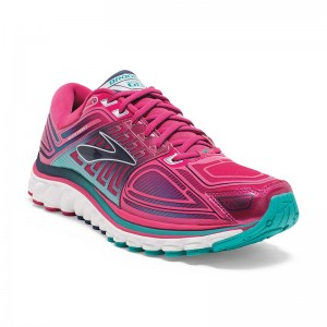 Zapatillas running de asfalto Brooks Glycerin 13 Rosas-1