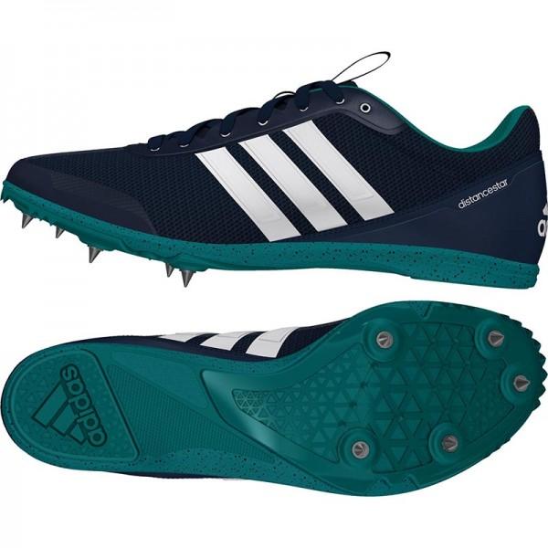 Zapatillas running de pista Adidas Distancestar Verdes-12