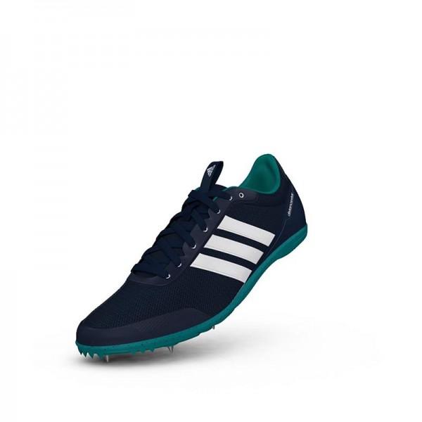 Zapatillas running de pista Adidas Distancestar Verdes-4