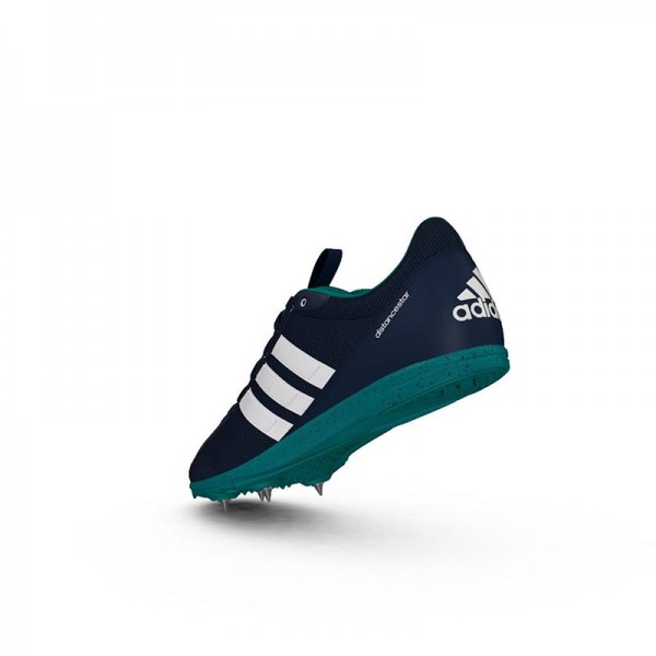 Zapatillas running de pista Adidas Distancestar Verdes-7