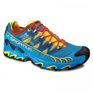 Zapatillas trail running La Sportiva Ultra Raptor Azules-1