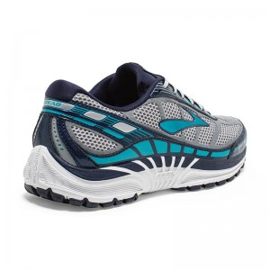 Zapatillas running de asfalto Brooks Dyad 8 Grises-2