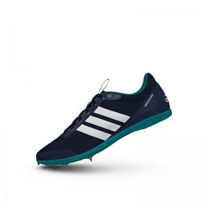 Zapatillas running de pista Adidas Distancestar Verdes-1