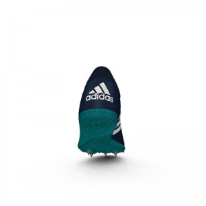 Zapatillas running de pista Adidas Distancestar Verdes-2