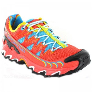 Zapatillas trail running La Sportiva Ultra Raptor Coral-2