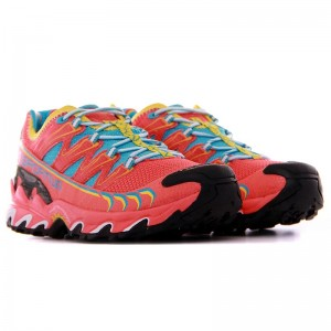 Zapatillas trail running La Sportiva Ultra Raptor Coral-4
